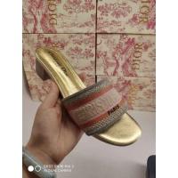 Christian Dior CD Slippers For Women #499428