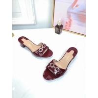 Salvatore Ferragamo SF Slippers For Women #500232