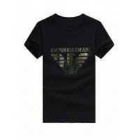 Armani T-Shirts Short Sleeved O-Neck For Men #502345