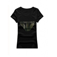 Armani T-Shirts Short Sleeved O-Neck For Women #502354