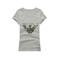 Armani T-Shirts Short Sleeved O-Neck For Women #502356