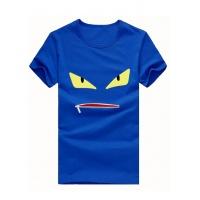 Fendi T-Shirts Short Sleeved O-Neck For Men #502372