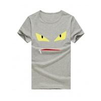 Fendi T-Shirts Short Sleeved O-Neck For Men #502377
