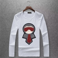 Fendi T-Shirts Long Sleeved O-Neck For Men #503869