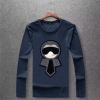 Fendi T-Shirts Long Sleeved O-Neck For Men #503874
