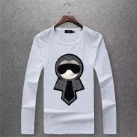 Fendi T-Shirts Long Sleeved O-Neck For Men #503875