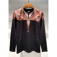 Marcelo Burlon T-Shirts Long Sleeved O-Neck For Men #503931
