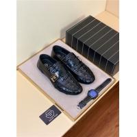 Philipp Plein PP Leather Shoes For Men #504290