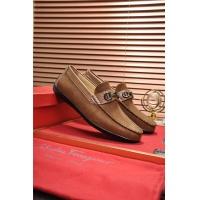 Ferragamo Salvatore FS Leather Shoes For Men #505004