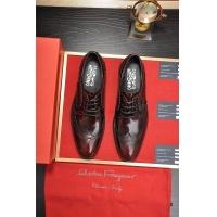 Ferragamo Salvatore FS Leather Shoes For Men #505008