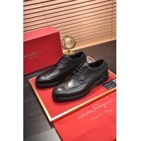 Ferragamo Salvatore FS Leather Shoes For Men #505018