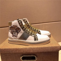 Versace High Tops Shoes For Men #505849