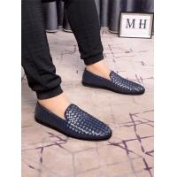 Bottega Veneta BV Leather Shoes For Men #506194