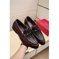 Ferragamo Leather Shoes For Men #506675
