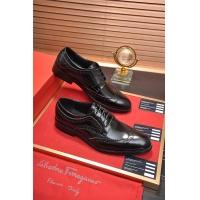 Ferragamo Salvatore FS Leather Shoes For Men #506690