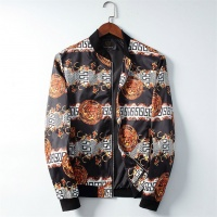Versace Jackets Long Sleeved Zipper For Men #506943
