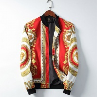 Versace Jackets Long Sleeved Zipper For Men #506945