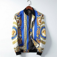 Versace Jackets Long Sleeved Zipper For Men #506946