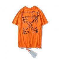 Off-White T-Shirts Short Sleeved O-Neck For Men #507784