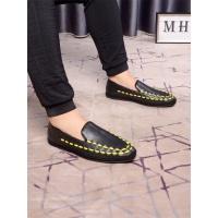 Bottega Veneta BV Leather Shoes For Men #507948