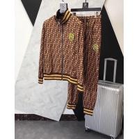 Fendi Tracksuits Long Sleeved Zipper For Men #509055