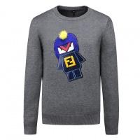 Fendi Sweaters Long Sleeved O-Neck For Men #509156