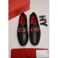 Ferragamo Salvatore FS Leather Shoes For Men #509741