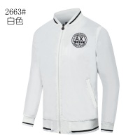 Armani Jackets Long Sleeved Zipper For Men #511243