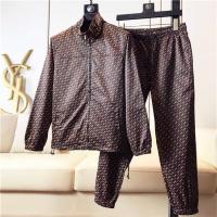 Fendi Tracksuits Long Sleeved Zipper For Men #513205