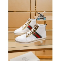 Cheap Versace High Tops Shoes For Men #513642 Replica Wholesale [$79.54 USD] [W#513642] on Replica Versace High Tops Shoes