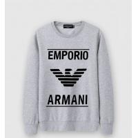 Armani Hoodies Long Sleeved O-Neck For Men #513702
