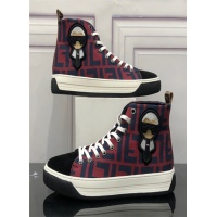 Fendi High Tops Casual Shoes For Men #513934