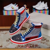 Versace High Tops Shoes For Men #514405