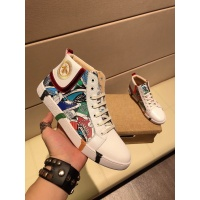Versace High Tops Shoes For Men #515538