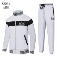 Armani Tracksuits Long Sleeved Zipper For Men #515663
