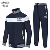 Armani Tracksuits Long Sleeved Zipper For Men #515664