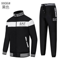 Armani Tracksuits Long Sleeved Zipper For Men #515665