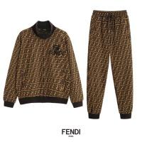 Fendi Tracksuits Long Sleeved O-Neck For Men #516240