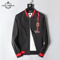 Dolce & Gabbana D&G Jackets Long Sleeved Zipper For Men #516274