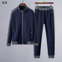 Balenciaga Tracksuits Long Sleeved Zipper For Men #517045