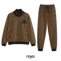 Fendi Tracksuits Long Sleeved O-Neck For Men #517488