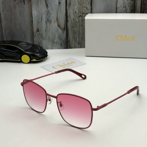Chloe AAA Quality Sunglasses #519840