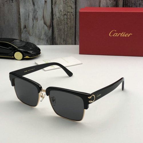 Cartier AAA Quality Sunglasses #520079