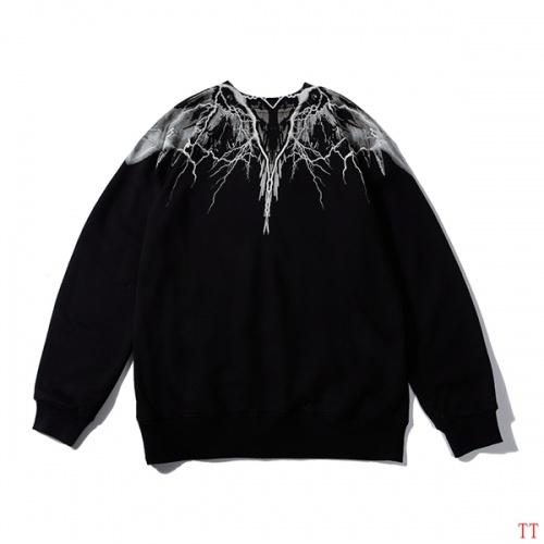 Cheap Marcelo Burlon Hoodies Long Sleeved O-Neck For Men #524993 Replica Wholesale [$43.65 USD] [W#524993] on Replica Marcelo Burlon Hoodies