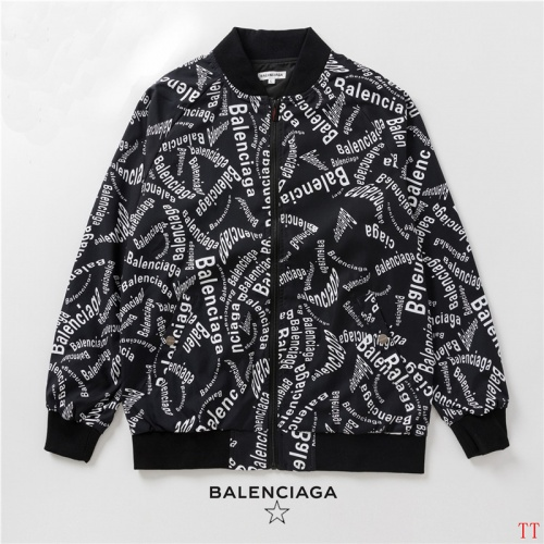 Cheap Balenciaga Jackets Long Sleeved Zipper For Men #525062 Replica Wholesale [$58.20 USD] [W#525062] on Replica Balenciaga Jackets