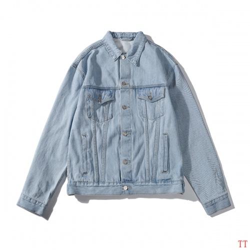 Cheap Balenciaga Jackets Long Sleeved Polo For Men #525064 Replica Wholesale [$82.45 USD] [W#525064] on Replica Balenciaga Jackets