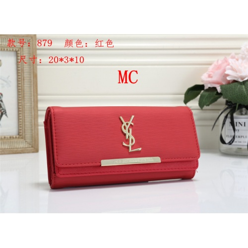 Cheap Yves Saint Laurent YSL Fashion Wallets #525290 Replica Wholesale [$16.49 USD] [W#525290] on Replica Yves Saint Laurent YSL Wallets