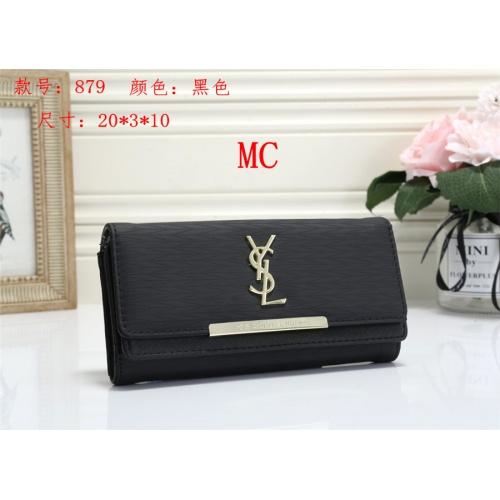 Cheap Yves Saint Laurent YSL Fashion Wallets #525291 Replica Wholesale [$16.49 USD] [W#525291] on Replica Yves Saint Laurent YSL Wallets