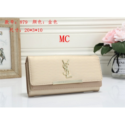 Cheap Yves Saint Laurent YSL Fashion Wallets #525293 Replica Wholesale [$16.49 USD] [W#525293] on Replica Yves Saint Laurent YSL Wallets