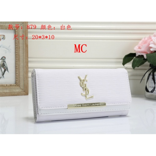 Cheap Yves Saint Laurent YSL Fashion Wallets #525294 Replica Wholesale [$16.49 USD] [W#525294] on Replica Yves Saint Laurent YSL Wallets
